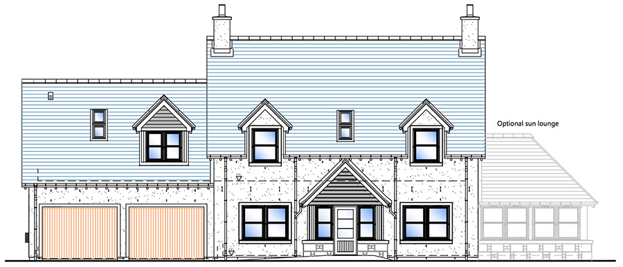 House Type A Front Elevation