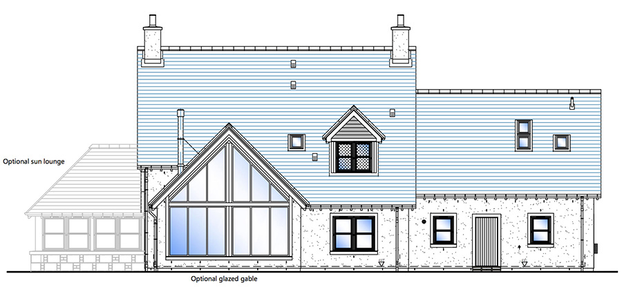 House Type A Rear Elevation