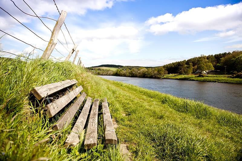 River at Durward Gardens Site