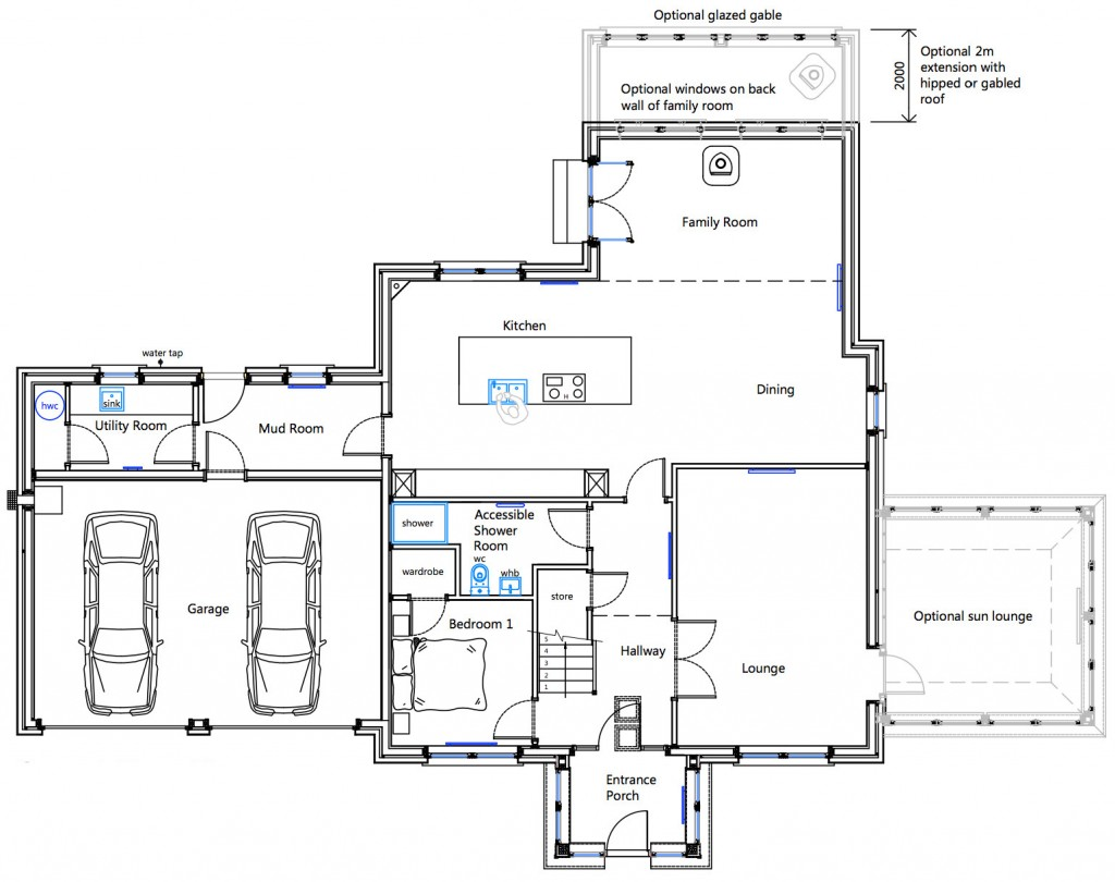 House Type A Ground Floor Plan