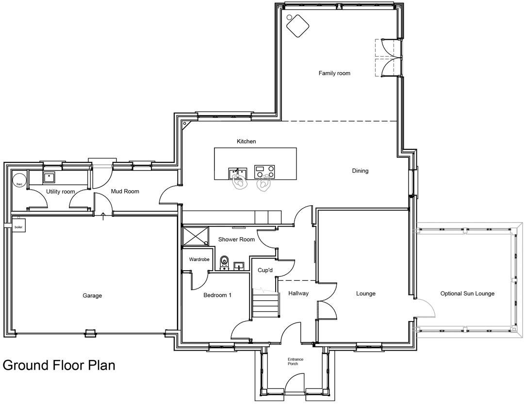 Chapelton - House Type A - Ground Floor Plan